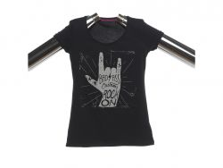 "T-Shirt Damen ""Rock On"""